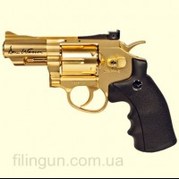 "Пневматический револьвер ASG Dan Wesson 2.5"" Gold"