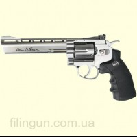 "Пневматичний револьвер ASG Dan Wesson 6"" Silver"