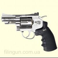 "Пневматичний револьвер ASG Dan Wesson 2.5"" Silver"