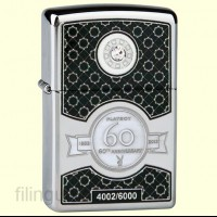 Запальничка Zippo 28735 Playboy Club 60th Anniversary Limited Edition
