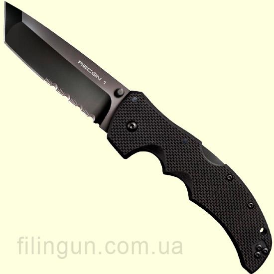 Нож Cold Steel Recon 1 Tanto Point 50 / 50 27BTH