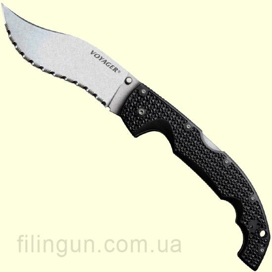 Нож Cold Steel Voyager Vaquero XL Serrated Edge 29AXVS - фото