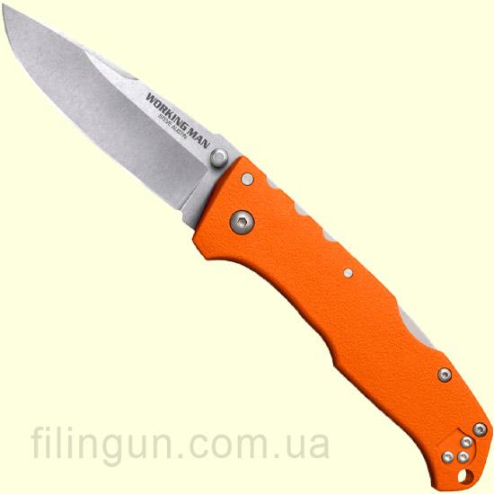 Нож Cold Steel Working Man Steve Austin Blaze Orange 54NVRY