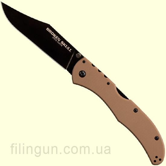 Нож Cold Steel Broken Skull 2 Coyote Tan 54SBB