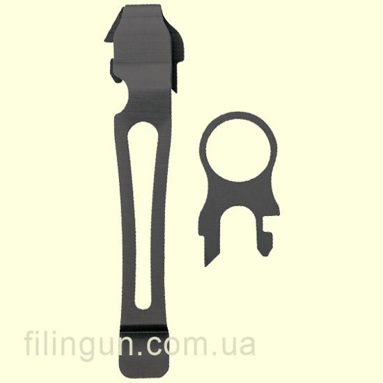 З'ємна кліпса Leatherman Pocket Clip & Lanyard Ring Black