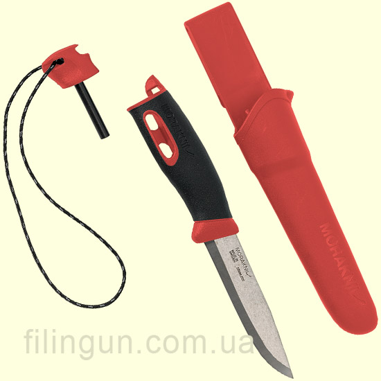 Нож Morakniv Companion Spark Red