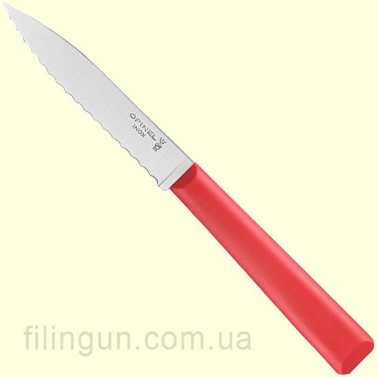 Нож Opinel №313 Serrated Red (Красный)
