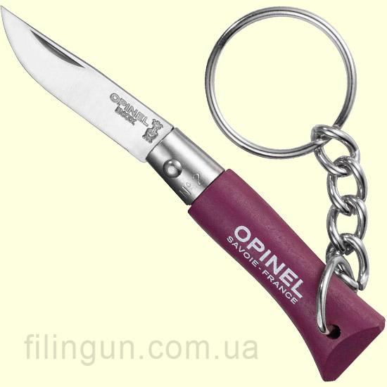 Ніж Opinel Keychain №02 Plum (Фіолетовий)