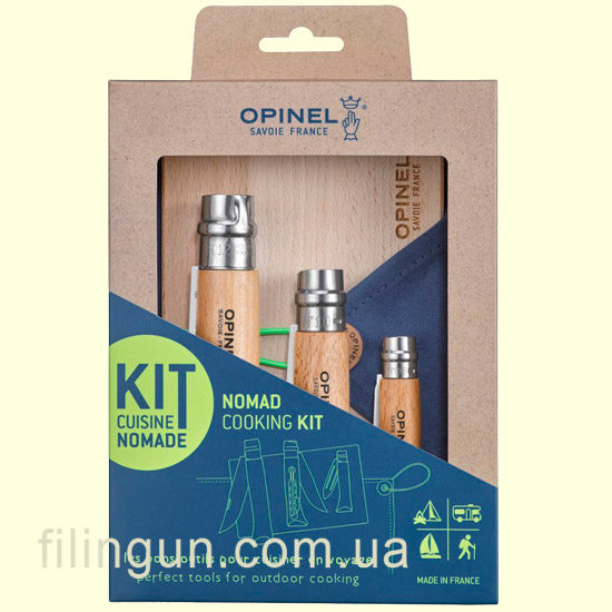 Набор ножей Opinel Nomad Cooking Kit