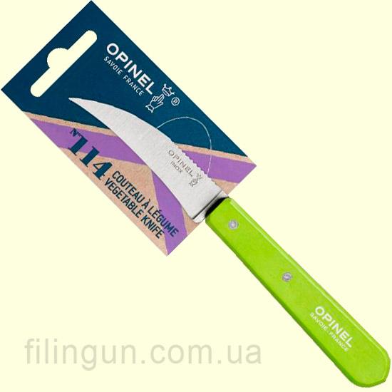 Ніж Opinel Vegetable №114 Green-Apple (Салатовий)