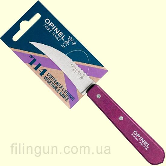 Ніж Opinel Vegetable №114 Plum (Фіолетовий)