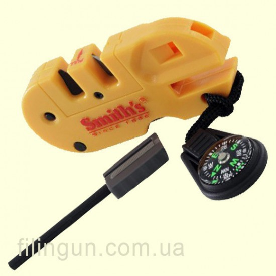 Точилка Smith's Pocket Pal X2 Sharpener & Survival Tool 50364