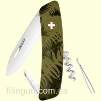 Швейцарский нож Swiza C01 Olive Fern