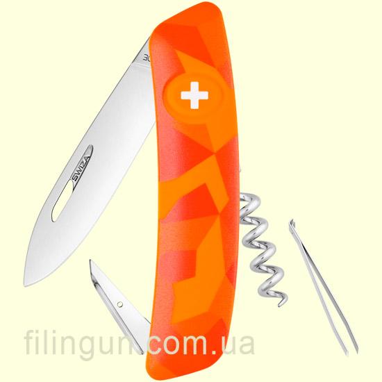 Швейцарський ніж Swiza C01 Orange Urban