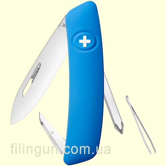 Швейцарський ніж Swiza D02 Blue