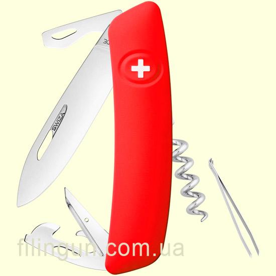 Швейцарський ніж Swiza D03 Red