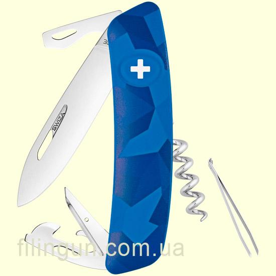 Швейцарський ніж Swiza C03 Blue Urban