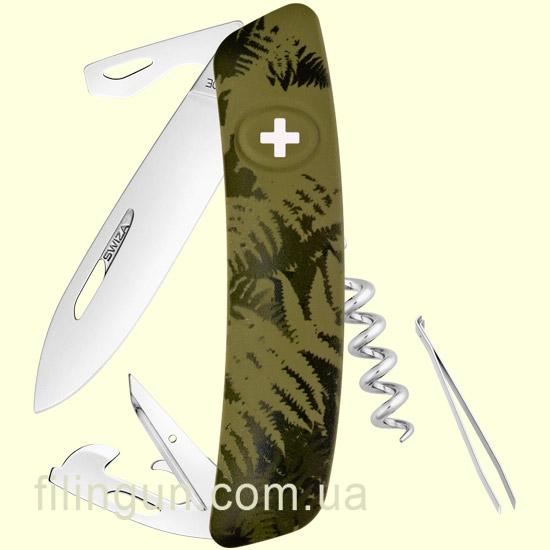 Швейцарський ніж Swiza C03 Olive Fern
