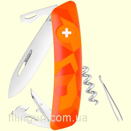 Швейцарський ніж Swiza C03 Orange Urban