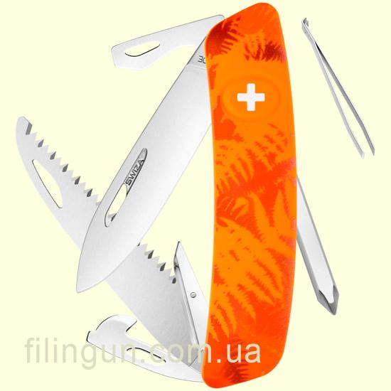 Швейцарський ніж Swiza C06 Orange Fern