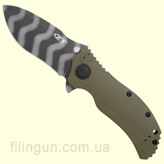 Нож ZT 0301 Ranger Green Folder