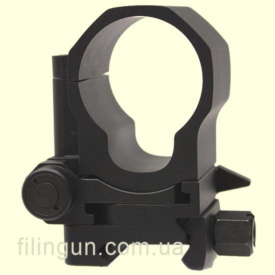 Кріплення Aimpoint FlipMount. Діаметр - 30 мм. Висота основи - 39 мм. На планку Weaver/Picatinny