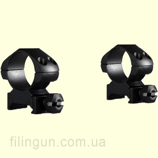 "Крепление кольца Hawke Precision Steel 1"" Weaver Medium"