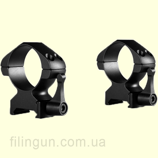 Крепление кольца Hawke Precision Steel 30 mm Weaver High Lever
