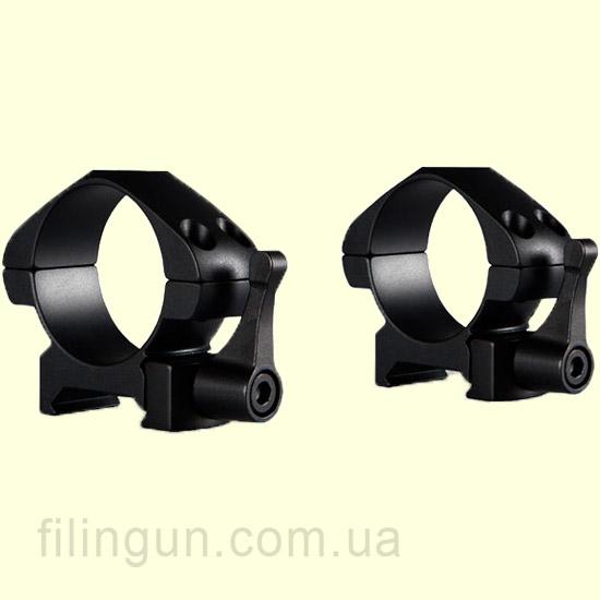 Крепление кольца Hawke Precision Steel 30 mm Weaver Low Lever
