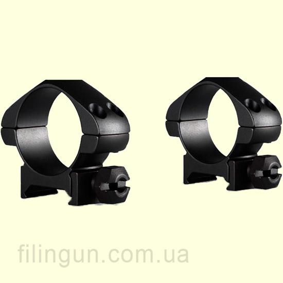 Крепление кольца Hawke Precision Steel 30 mm Weaver Low