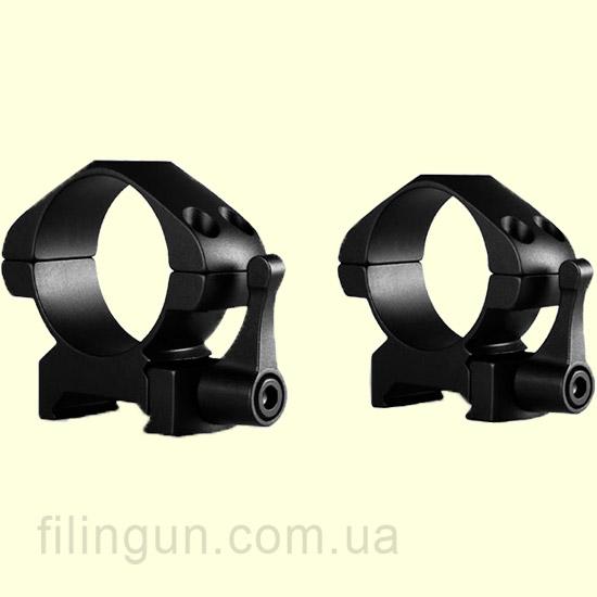Крепление кольца Hawke Precision Steel 30 mm Weaver Medium Lever