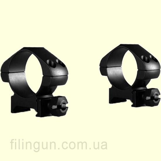 Крепление кольца Hawke Precision Steel 30 mm Weaver Medium