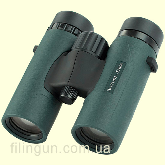 Бінокль Hawke Nature Trek 10x32 Top Hinge (Green)