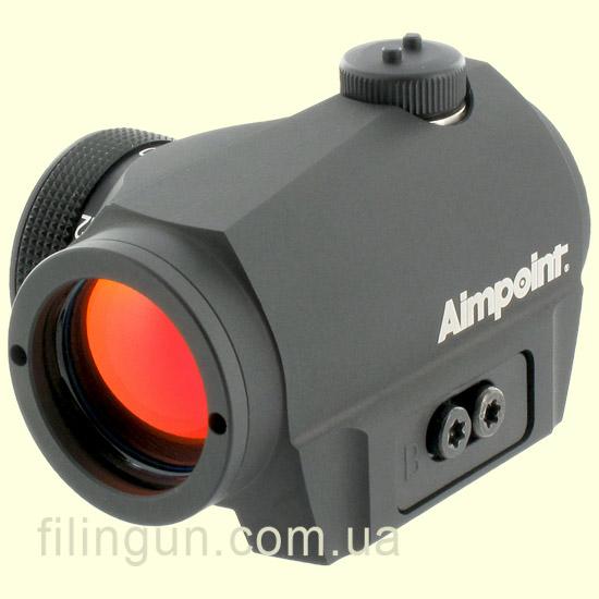 Приціл коліматорний Aimpoint Micro S-1 6MOA з кріпленням на вентильовану планку - фото