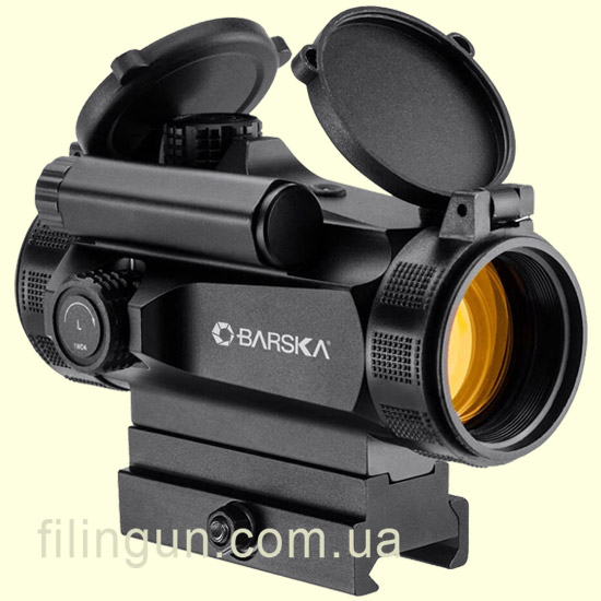 Коллиматорный прицел Barska AR-X Red Dot 1x30 HQ (Weaver/Picatinny) - фото