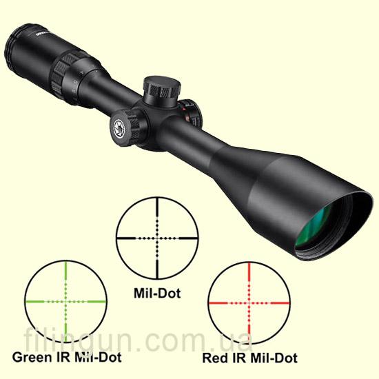 Оптичний приціл Barska Blackhawk 3-12x50 (IR Mil-Dot R/G)