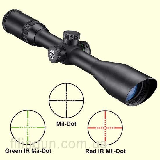 Оптичний приціл Barska Blackhawk 3-9x32 (IR Mil-Dot R/G)