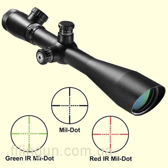 Оптичний приціл Barska Sniper GX2 4-16x50 (IR Mil-Dot R/G)