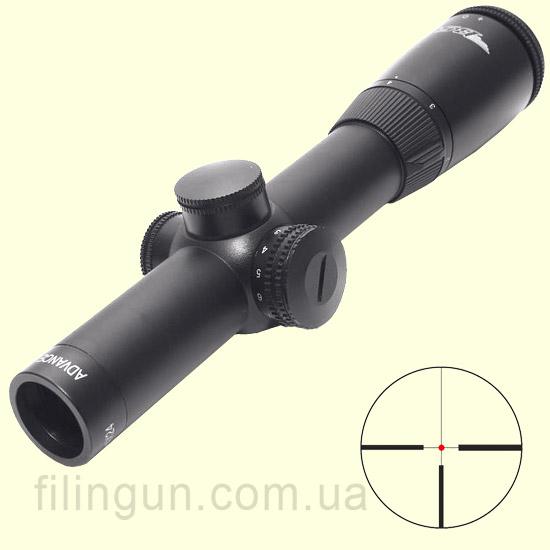 Оптичний приціл BSA Optics Advance 1-4x24 IRG430