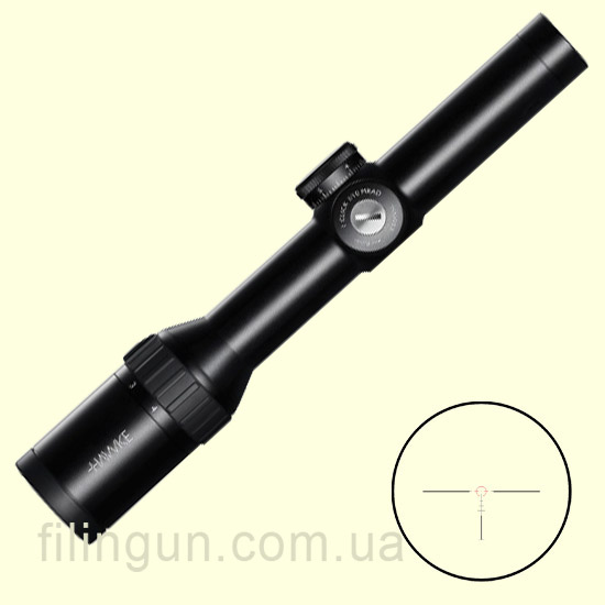 Оптический прицел Hawke Endurance 30 WA 1-4x24 (Tactical IR Dot)