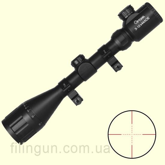 Оптический прицел Optima 3-12x44AOE Scope