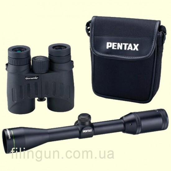 Комплект Pentax Gameseeker Essential Optics Outfit (прицел Gameseeker II 4-12х40 + бинокль 10х42 DCF)