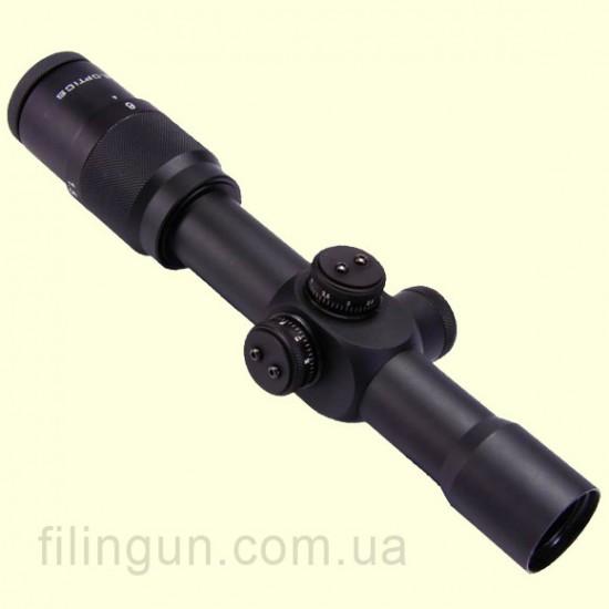 Оптичний приціл US Optics SR-6S 1.5-6x28 JNG MIL з підсвічуванням