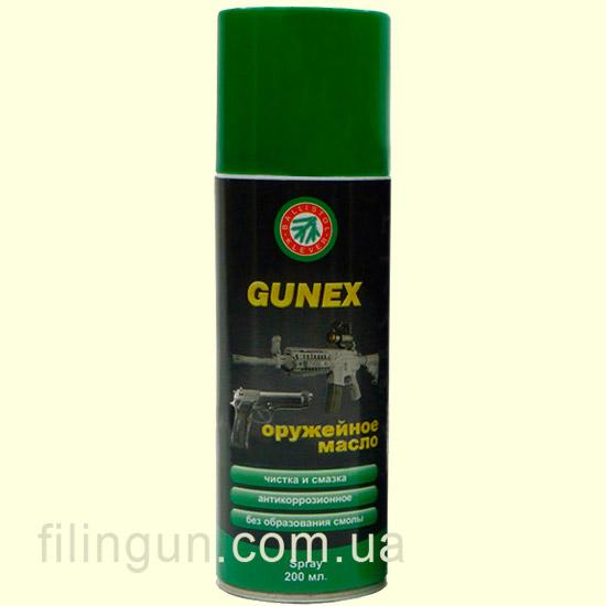 Оружейное масло Klever Ballistol Gunex 2000 Spray 200ml