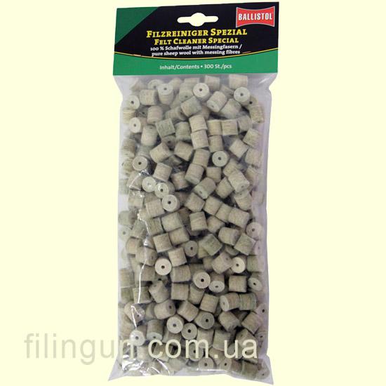 Патч для чистки Ballistol войлочный специальный Cal. .308 300 шт - фото