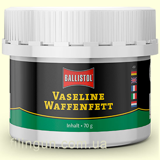 Вазелин для оружия Klever Ballistol Vaseline Waffenfett 70 мл