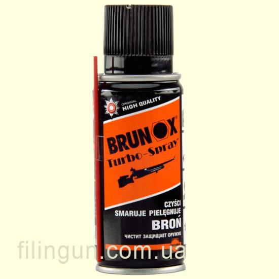 Средство для ухода за оружием Brunox Turbo Spray 100 мл