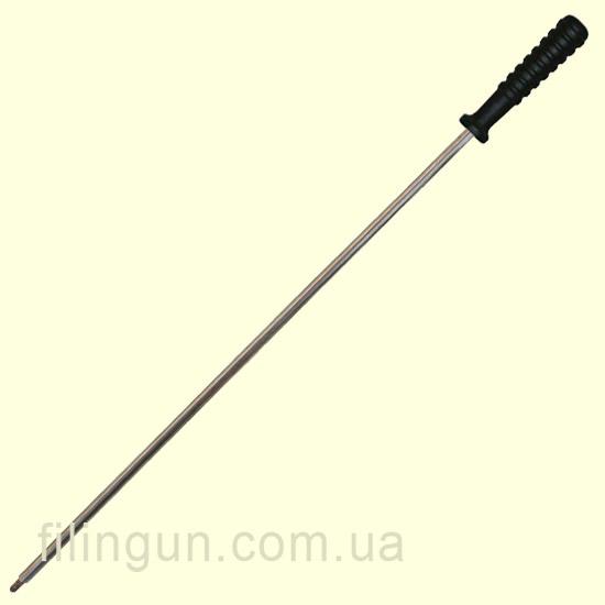 Шомпол MegaLine цельный для гладкоствольных ружей алюминиевый