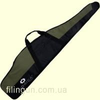 Чохол для гвинтівки Norica з оптичним прицілом 132 см чорний/олива