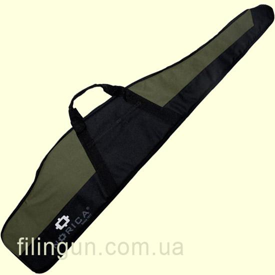 Чехол для винтовки Norica с оптическим прицелом 132 см черный/олива - фото